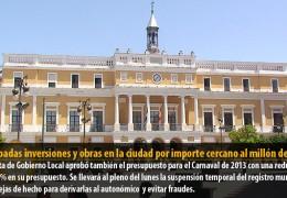 Aprobadas inversiones y obras en la ciudad por importe cercano al millón de euros