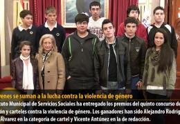 Los jóvenes se suman a la lucha contra la violencia de género