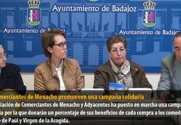 Los comerciantes de Menacho promueven una campaña solidaria