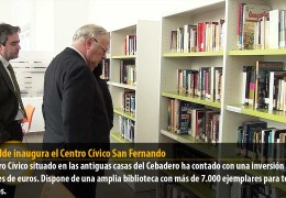 El alcalde inaugura el Centro Cívico San Fernando