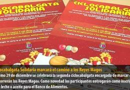 La Ciclocabalgata Solidaria marcará el camino a los Reyes Magos