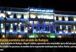 Felicitación navideña del alcalde de Badajoz