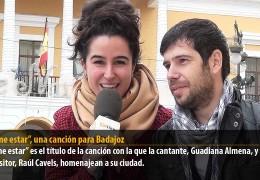 """""""Déjame estar"""", una canción para Badajoz"""