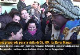 Badajoz preparada para la visita de SS. MM. los Reyes Magos