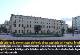 IU inicia una ronda de contactos pidiendo el uso sanitario del Hospital Provincial