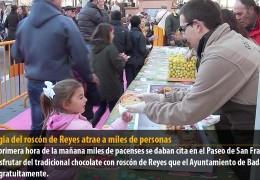 La magia del roscón de Reyes atrae a miles de personas