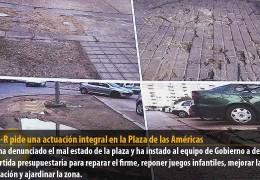 El GMS-R pide una actuación integral en la Plaza de las Américas