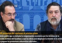 IU y PSOE presentan dos mociones al próximo pleno