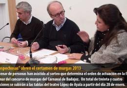"""""""Las Sospechosas"""" abren el certamen de murgas 2013"""
