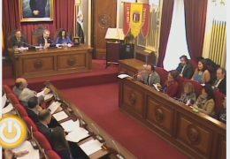 Pleno ordinario de Enero de 2013 del Ayuntamiento de Badajoz