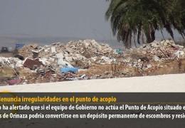 PSOE denuncia irregularidades en el punto de acopio