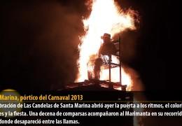 Santa Marina, pórtico del Carnaval 2013