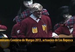 Actuación  de Los Repesca (Preliminares 2013)