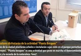 """400 escolares disfrutarán de la actividad """"Planta Bosques"""""""