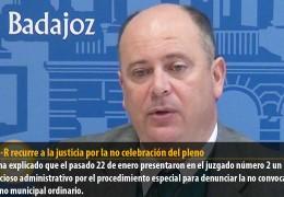 El GMS-R recurre a la justicia por la no celebración del pleno