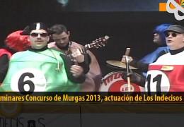 Actuación  de Los Indecisos (Preliminares 2013)