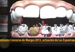 Actuación  de Los Espantaperros (Preliminares 2013)