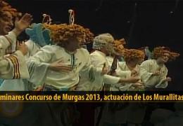 Actuación  de Los Murallitas (Preliminares 2013)