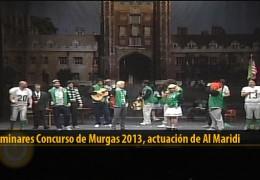 Actuación  de Al Maridi (Preliminares 2013)