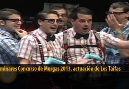 Actuación  de Los Taifas (Preliminares 2013)