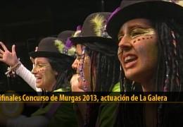 Actuación de La Galera (Semifinales 2013)