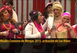 Actuación  de Los Niños (Semifinales 2013)