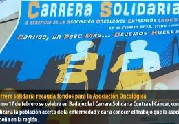 Una carrera solidaria recauda fondos para la Asociación Oncológica