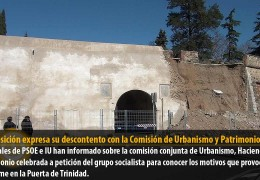 La oposición expresa su descontento con la Comisión de Urbanismo y Patrimonio