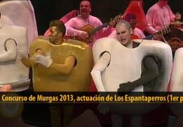 Actuación de Los Espantaperros (Ganadores Final 2013)