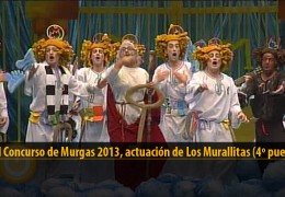 Actuación de Los Murallitas (4º puesto Final 2013)