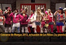 Actuación de Los Niños (3er puesto Final 2013)