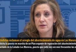 Los socialistas reclaman el arreglo del abastecimiento de agua en Las Moreras