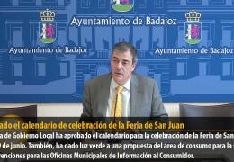 Aprobado el calendario de celebración de la Feria de San Juan