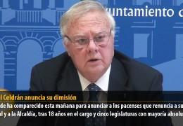 Miguel Celdrán anuncia su dimisión