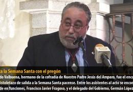 Pregón de la Semana Santa de Badajoz 2013