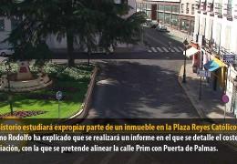 El Consistorio estudiará expropiar parte de un inmueble en la Plaza Reyes Católicos
