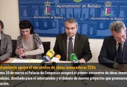 El Ayuntamiento apoya el encuentro de ideas innovadoras TEDx