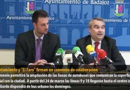 """El Ayuntamiento y """"El Faro"""" firman un convenio de colaboración"""