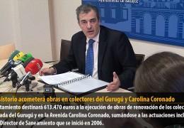 El Consistorio acometerá obras en colectores del Gurugú y Carolina Coronado