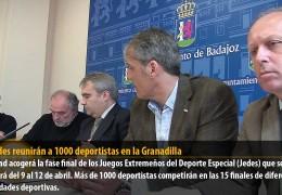 Los Jedes reunirán a 1000 deportistas en la Granadilla