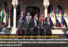 Las Casas Consistoriales acogen el Consejo de Gobierno Extraordinario