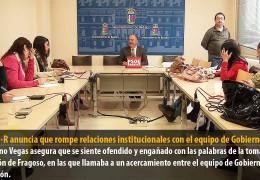El GMS-R anuncia que rompe relaciones institucionales con el equipo de Gobierno