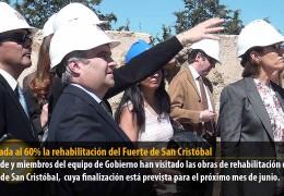 Ejecutada al 60% la rehabilitación del Fuerte de San Cristóbal