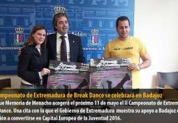 El II Campeonato de Extremadura de Break Dance se celebrará en Badajoz