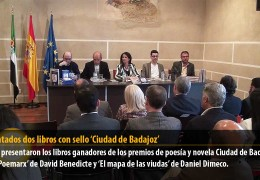 Presentados dos libros con sello 'Ciudad de Badajoz'