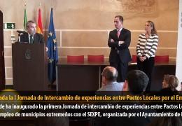 Celebrada la I Jornada de Intercambio de experiencias entre Pactos Locales por el Empleo