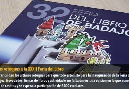 Últimos retoques a la XXXII Feria del Libro