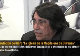 """Presentación del libro """"La Iglesia de la Magdalena de Olivenza"""""""