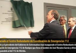 Inaugurado el Centro Redundante de Coordinación de Emergencias 112