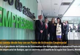 Badajoz cuenta desde hoy con un Punto de Activación Empresarial